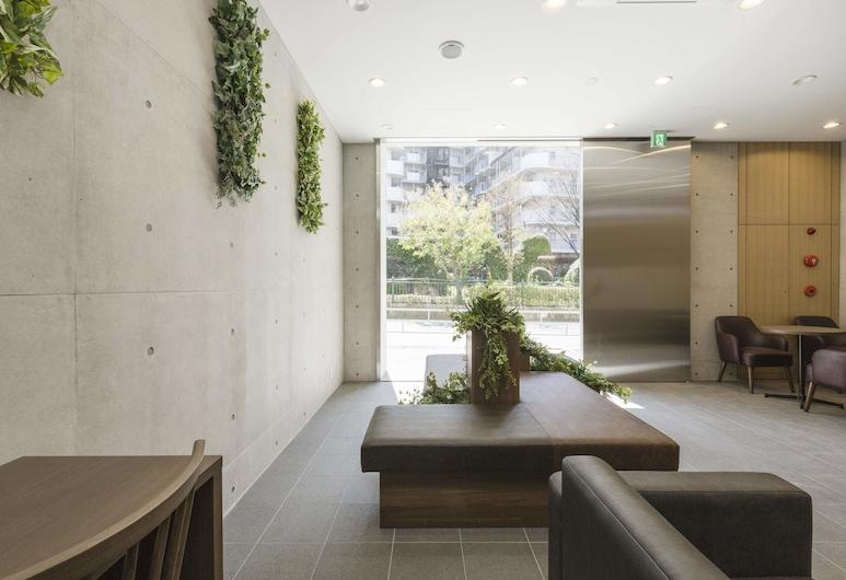 Casa Kyobashi, Осака, Гостиная в вестибюле