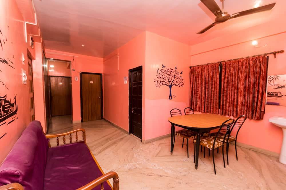 Pokoj s dvoulůžkem nebo 2 jednolůžky - Obývací prostor