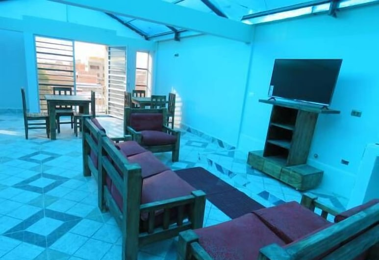 BELIZ IN B&B, Uyuni, Sitzecke in der Lobby