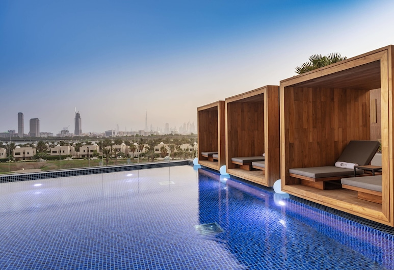 Aloft City Centre Deira, Dubai, Dubajus, Lauko baseinas