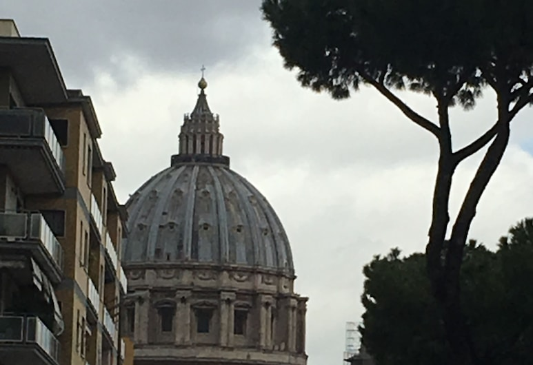 Domum Vaticani, Rome, View from Hotel