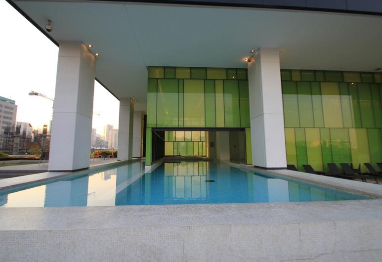 City Santa Fe Apartment 906, Mexiko  City, Vonkajší bazén