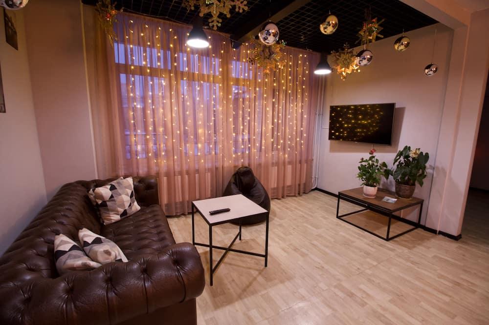 Luxury-Doppelzimmer, eigenes Bad - Wohnbereich