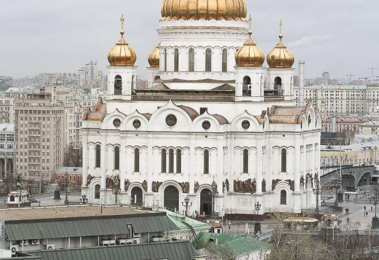 Lakshmi Great Apartment Afanasievsky, Moskwa, Apartament, Widok zpokoju