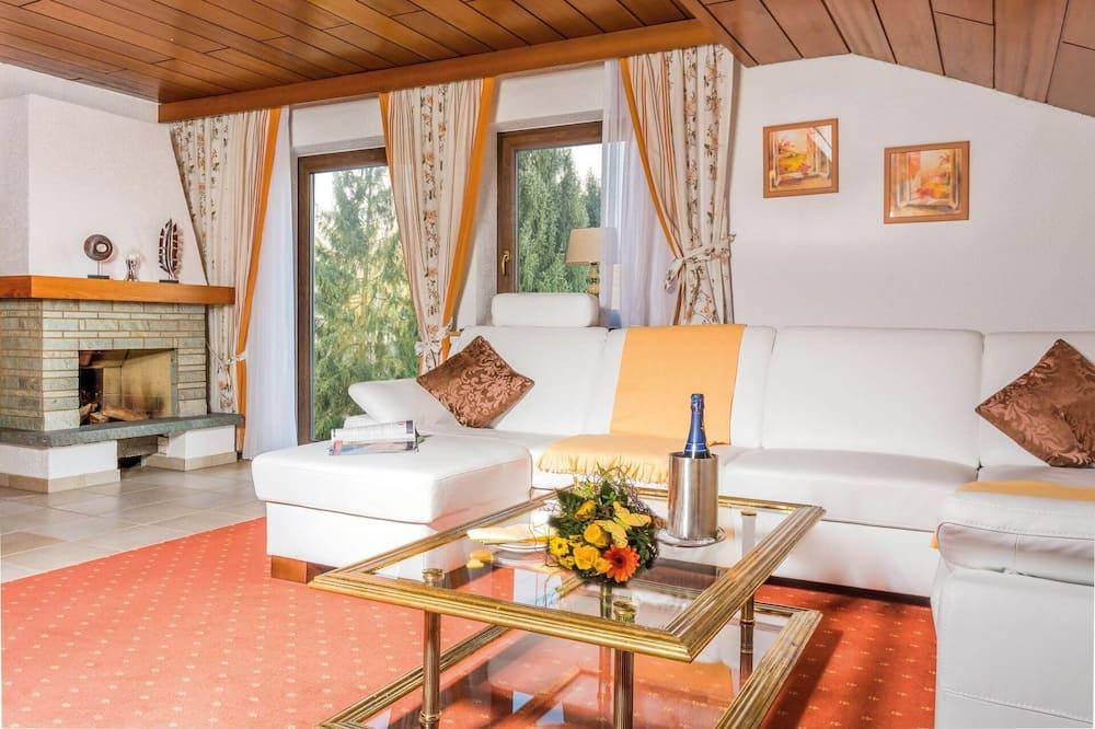 Lakosztály, 2 hálószobával - Nappali