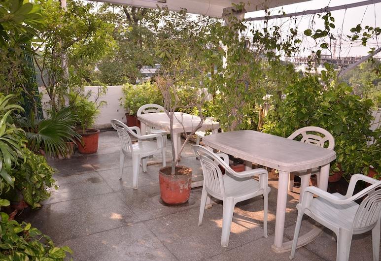 Prem Sagar Guest House, Nuova Delhi, Terrazza/Patio