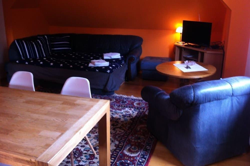Ház, 1 hálószobával - Nappali rész