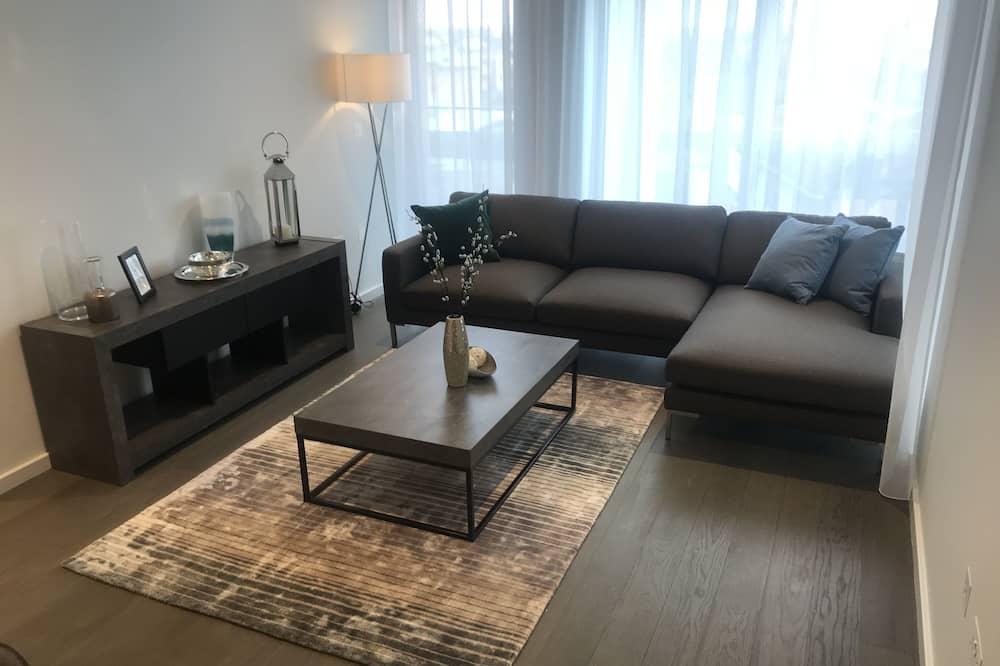 Luksusa dzīvokļnumurs, divas guļamistabas - Dzīvojamā zona