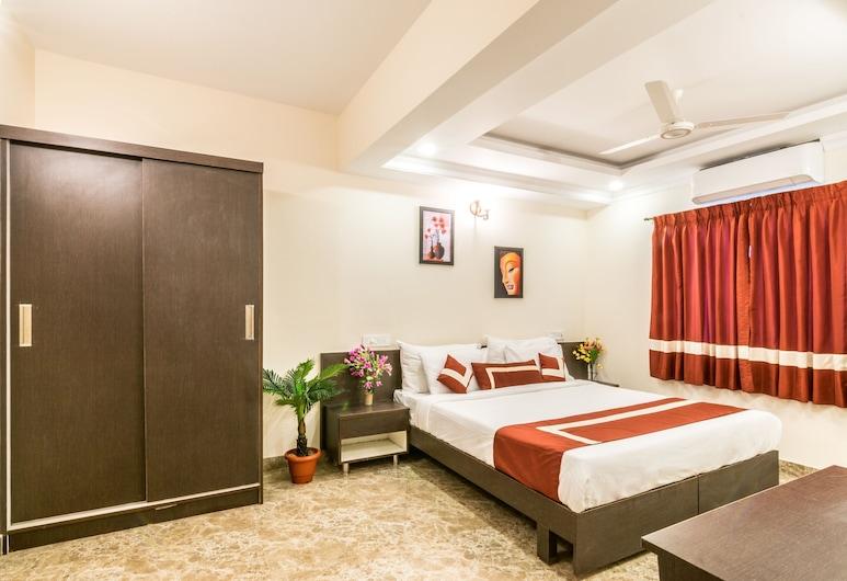 Octave Studio Hotel, Bengaluru, Superior-stúdíóíbúð - 1 meðalstórt tvíbreitt rúm - Reyklaust - eldhúskrókur, Herbergi