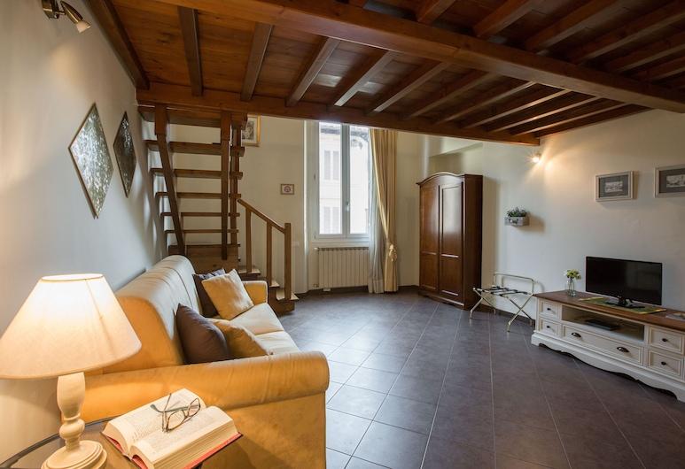 Charming Suite Cavour Heart of Florence, Florencia, Apartmán, 1 spálňa, Obývacie priestory