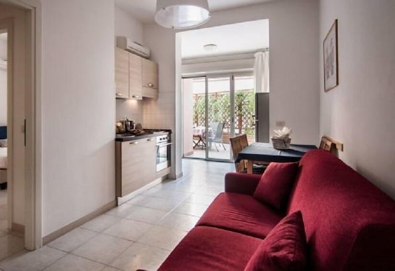 La Rosa di Nettuno, Grosseto, Apartment, 1 Bedroom, Terrace, Living Area