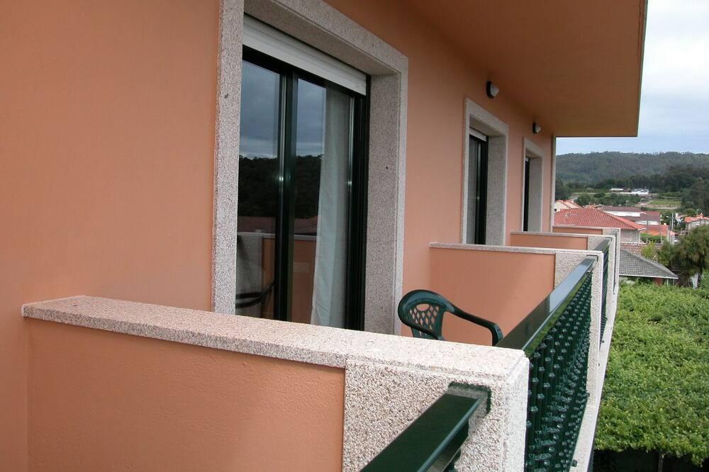 Værelse med 2 enkeltsenge - balkon - Altan