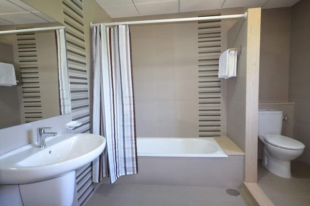 Dobbeltværelse - balkon - Badeværelse