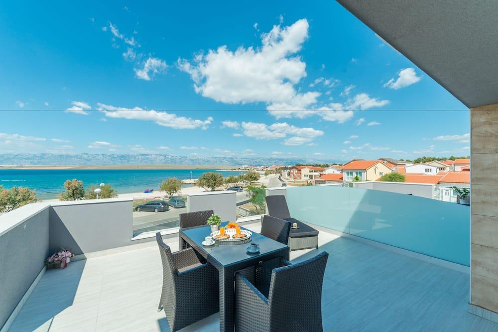 Apartment, Sea View, A1 - Balkón