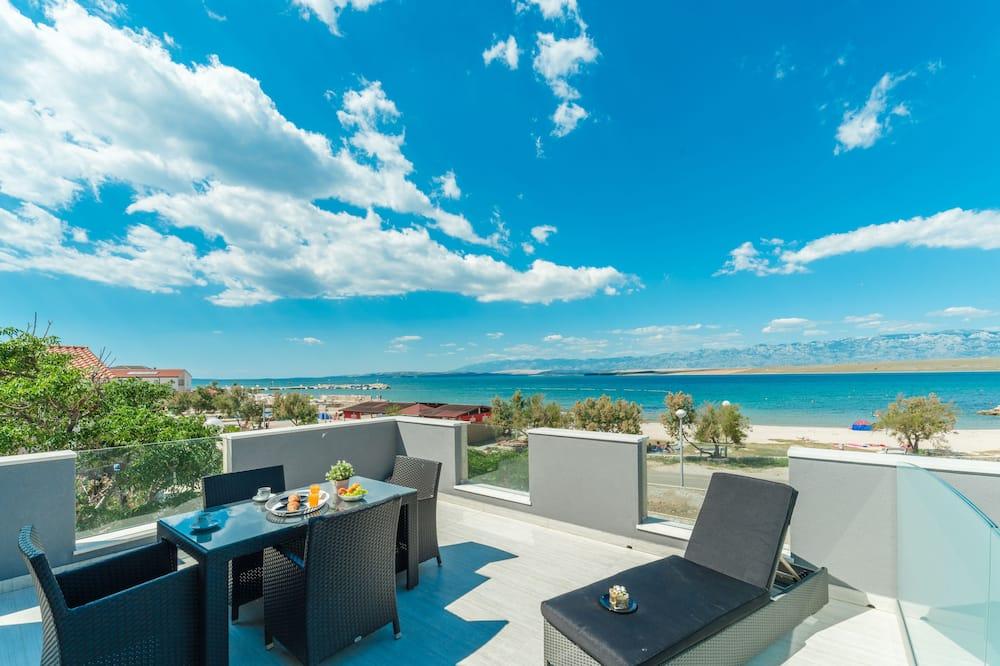 Apartment, 2 Bedrooms, Sea View, A2 - Balkón