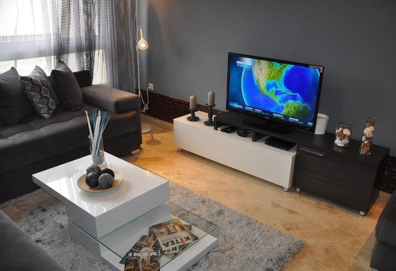 Val Fleuri Apartment, Casablanca, Departamento, 2 habitaciones, Sala de estar