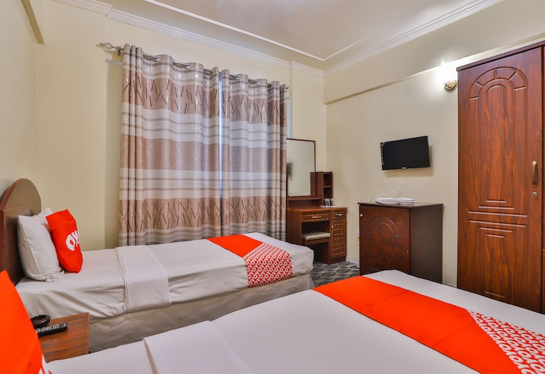 OYO 429 City Hotel, Sharjah, Standard Double or Twin Room, Guest Room