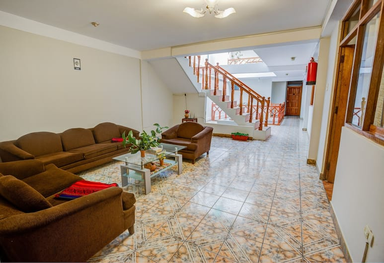 Machupicchu Guest House , Machu Picchu, Zitruimte lobby