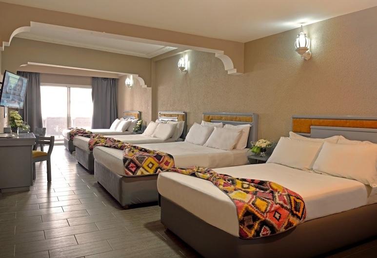 Hotel Rio, Casablanca, Habitación cuádruple, Habitación