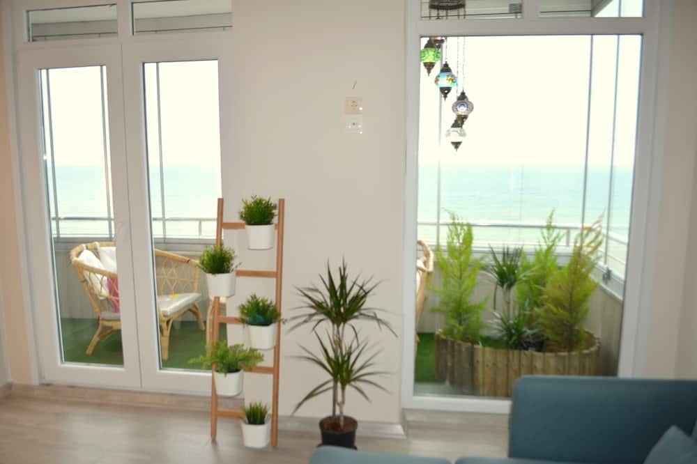 Comfort-Penthouse, 3Schlafzimmer, Balkon, Meerseite - Balkon