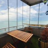 Comfort-Penthouse, 3Schlafzimmer, Balkon, Meerseite - Terrasse/Patio