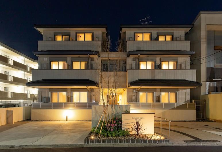 京都丹波橋日本寧飯店, Kyoto, 住宿正面 - 夜景