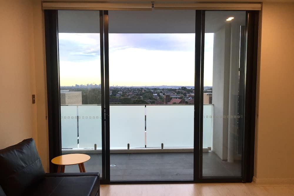 Standaard appartement, 2 slaapkamers, Toegankelijk voor mindervaliden, Uitzicht op de stad - Woonruimte