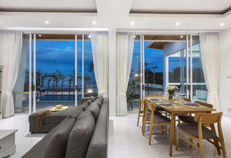 納摩別墅酒店, 蘇梅島, 別墅, 客廳