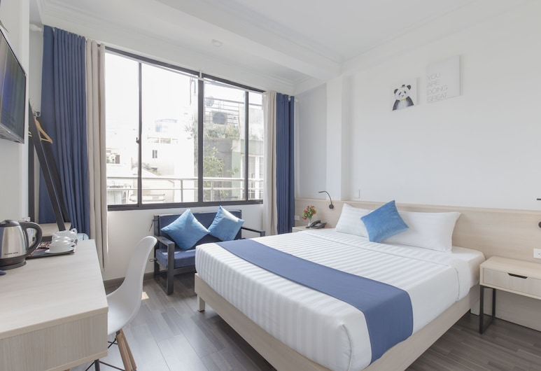 Spotlight Hotel, Ho Chi Minh City, Deluxe Double Room, Guest Room
