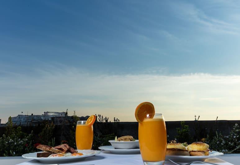 Athens Mansion Luxury Suites, Atėnai, Pusryčių zona
