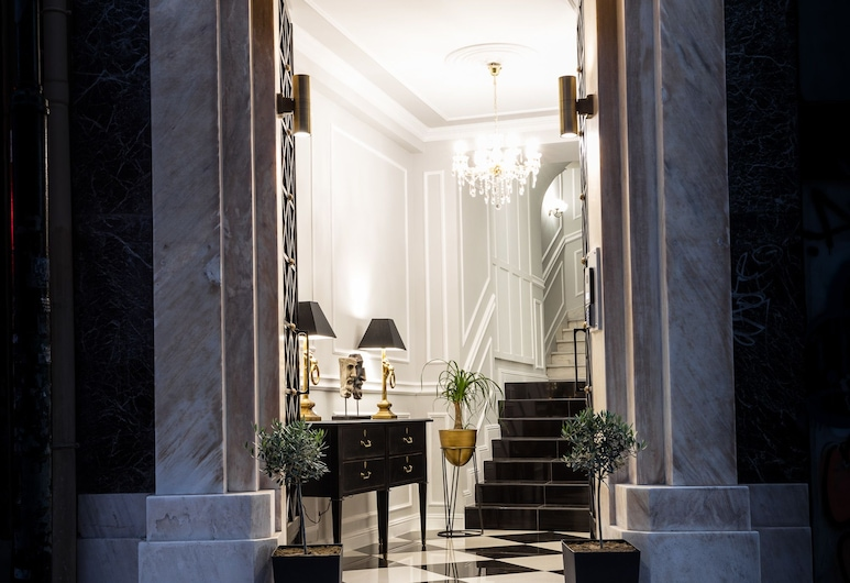 Athens Mansion Luxury Suites, Atenas, Entrada do Hotel