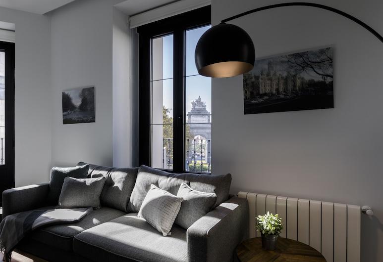 Puerta Toledo Apartment by FlatSweethome, Madrid, Appartement, 2 chambres, balcon, vue ville, Salle de séjour