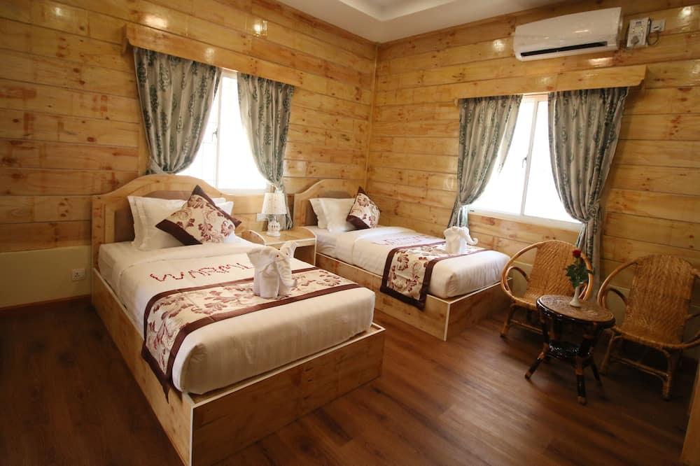 Family Üç Kişilik Oda, 3 Yatak Odası, Buzdolabı - Banyo