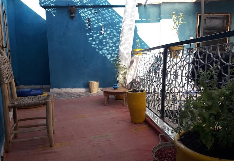 Full Moon Hostel, Marrakech, Terras