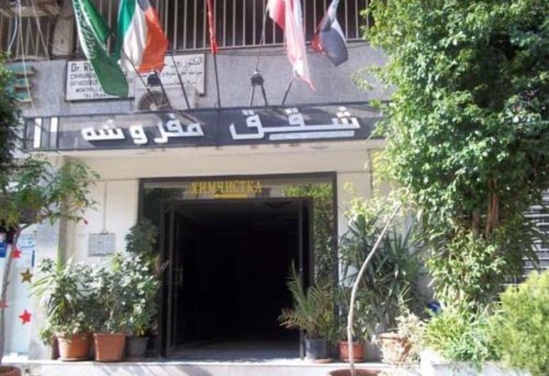 Kandiel Furnished Apartments, Jounieh, Overnatningsstedets indgang
