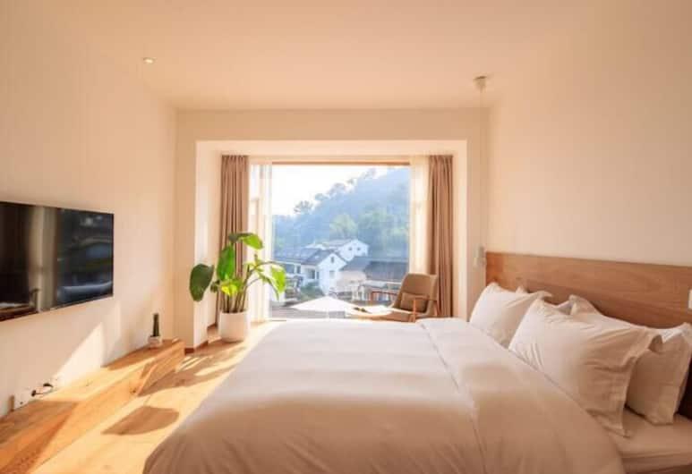 Hangzhou Moju Boutique House, Hangzhou, Suite, pemandangan gunung, Kamar Tamu