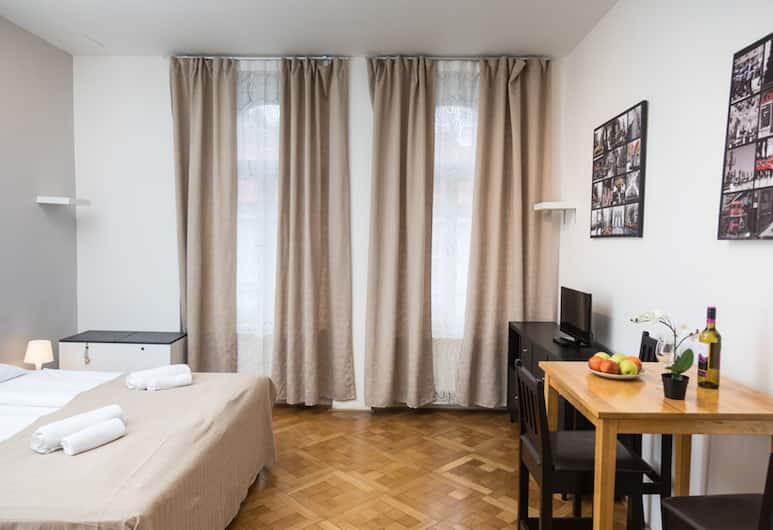 Welcome Apartments on Lublanska, Prag, İki Ayrı Yataklı Oda, Ortak Banyo, Oda