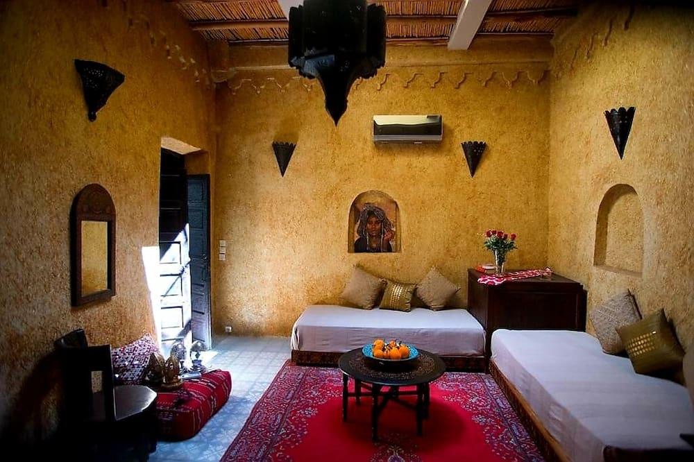 Senior Quadruple Room - Living Area