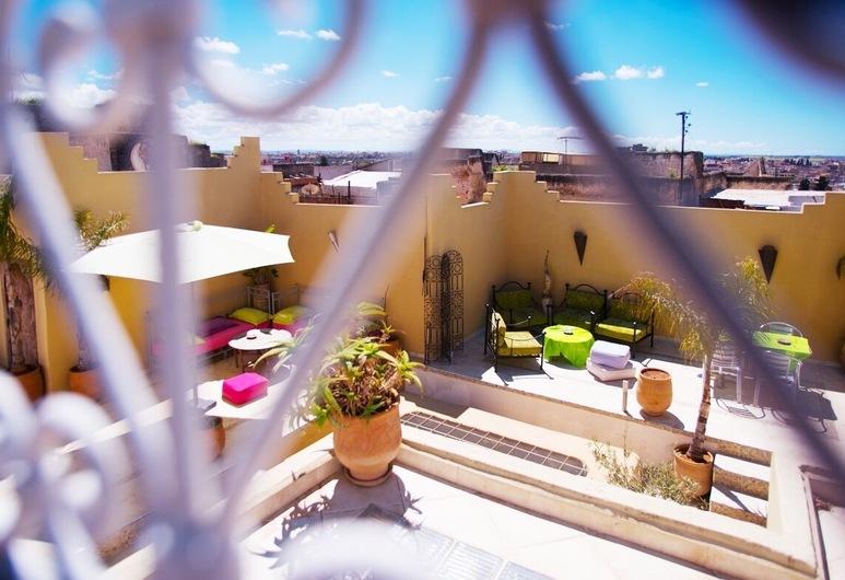Riad Safir, Meknes, Terrass