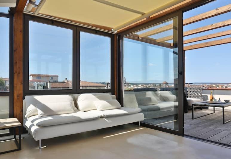 D'Azeglio Rooftop Terrace, Florens, Lägenhet - 2 sovrum, Terrass