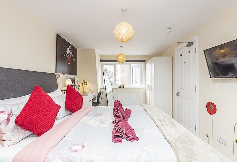 灰狗路客房酒店, 倫敦, 豪華公寓, 5 間臥室, 私人浴室, 客房