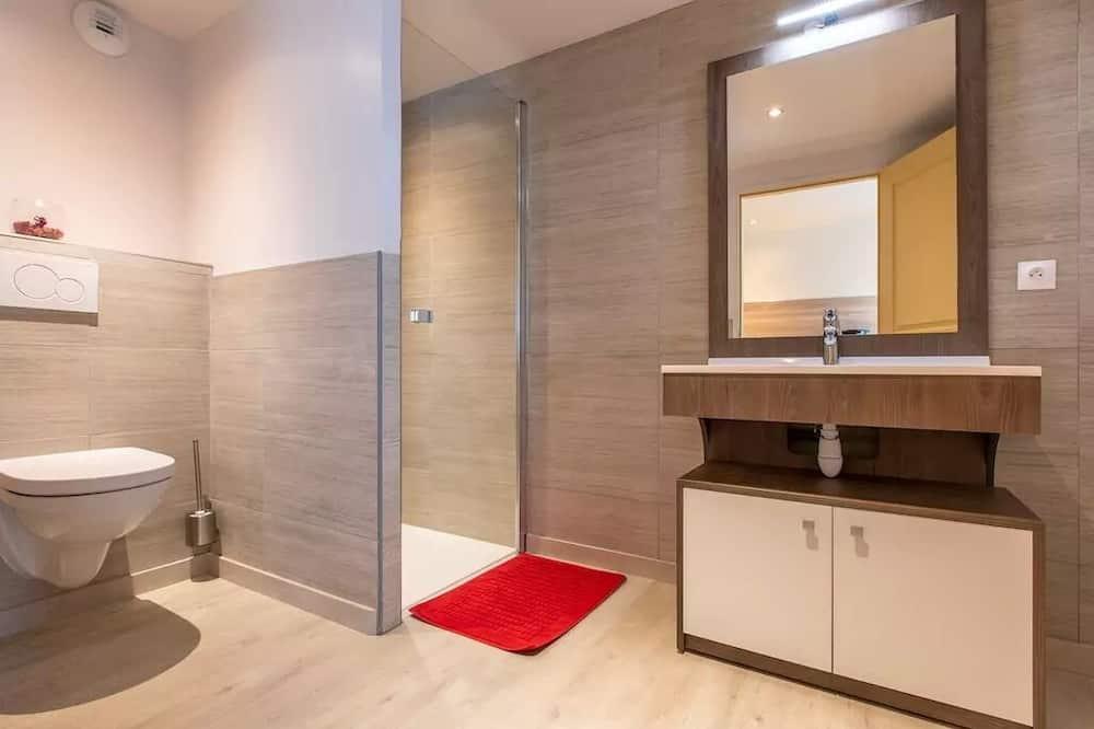 Apartmán typu Comfort, vlastná kúpeľňa (Le Chamois) - Kúpeľňa