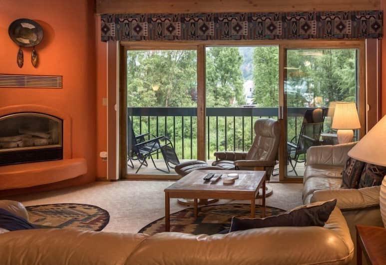 Riverside C101 - 2 Br Condo, Telluride, Mieszkanie, 2 sypialnie, wanna (Riverside C101), Powierzchnia mieszkalna