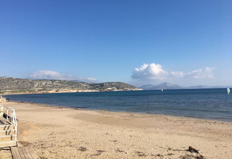 Hyggelig lejlighed tæt ved havet , Vari-Voula-Vouliagmeni, Strand