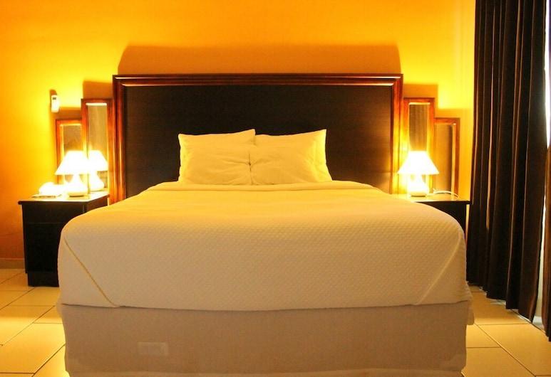 火山群景飯店, 華尤阿, 行政套房, 1 張特大雙人床, 按摩浴缸, 客房