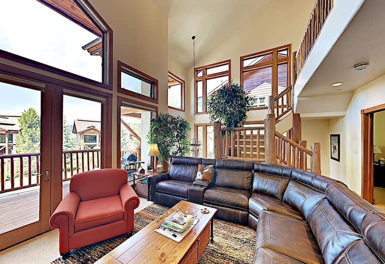 2700 Cross Timbers Trail Townhouse #1 4 Bedrooms 3.5 Bathrooms Townhouse, Steamboat Springs, Stadtwohnung, 4Schlafzimmer, Wohnzimmer