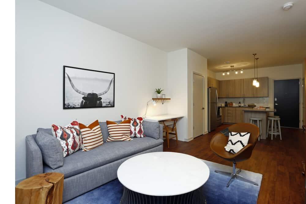 Departamento Deluxe, 2 habitaciones - Sala de estar
