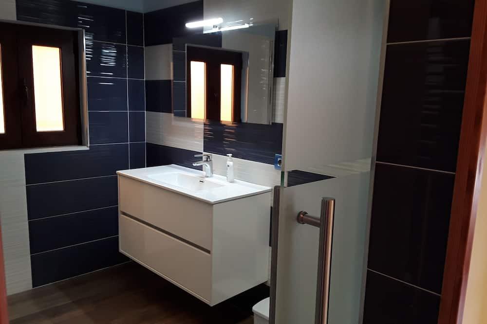 Romantisches Zimmer, 1 Schlafzimmer, Terrasse - Badezimmer
