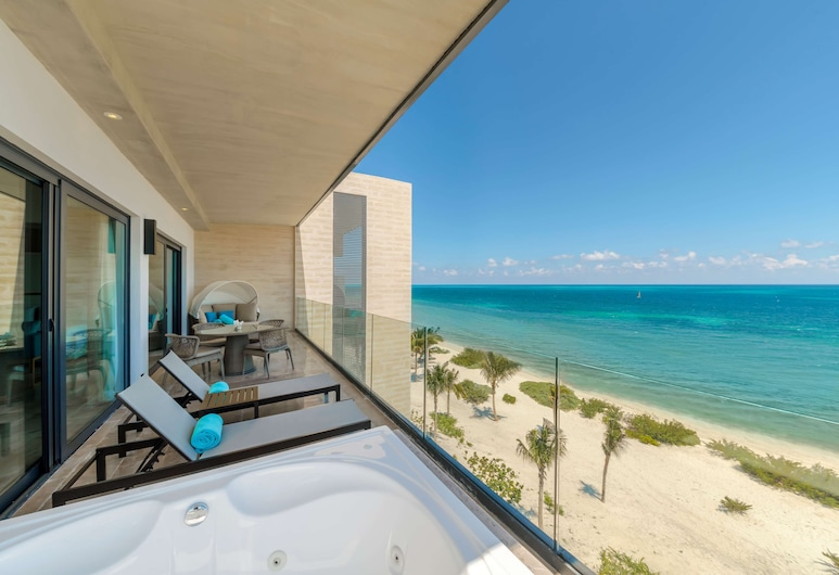 Haven Riviera Cancun Resort & SPA All Inclusive- Adults Only, Puerto Morelos, Serenity Club, One Bedroom, Master Suite, Ocean Front , Guest Room View
