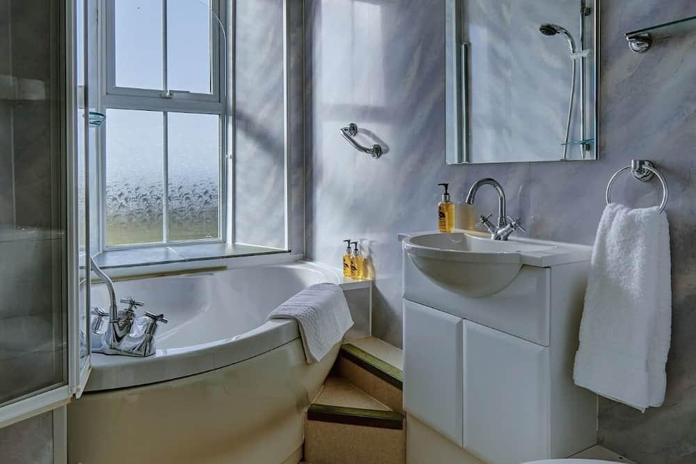 Twin kamer, privébadkamer ((External Bathroom)) - Badkamer